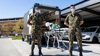Hôpital du Valais: des militaires en renfort