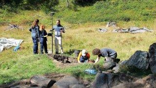 Trient: les plus anciennes mines de fer du Valais découvertes à 1900 mètres d'altitude