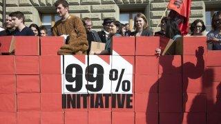 Initiative 99%: Veysonnaz, seule commune valaisanne à dire oui