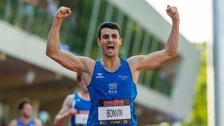 Athlétisme: Julien Bonvin s'offre un deuxième record valaisan