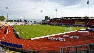 Football: le FC Sion affronte le FC Stade Lausanne-Ouchy au stade de la Pontaise en Coupe de Suisse