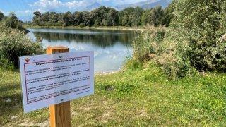 Pollution: baignade interdite dans deux lacs valaisans en raison de toxines de cyanobactéries détectées