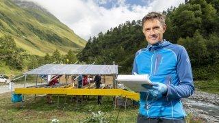 A Orsières, l'EPFL étudie l'impact du changement climatique sur les rivières de montagne