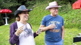 Cindy Giroud et Jean-Luc Addor: l'album photos des rires au mayen