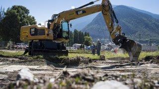 Mercure: les travaux d'assainissement commencent dans le Haut-Valais