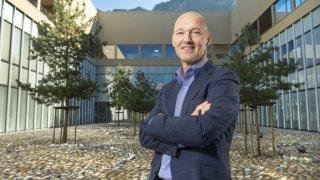 Directeur de l'Hôpital Riviera-Chablais, Christian Moeckli: «Mon enjeu principal est l'amélioration du flux de patients à l'interne.»