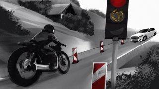 Evolène: un policier impliqué dans un accident