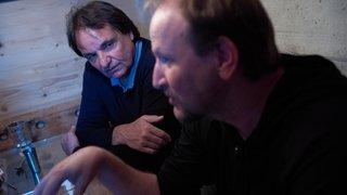 Christian Constantin et Vincent Fragnière: l'album photos des rires au mayen