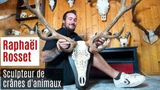 Nos artisans ont du talent: Rosskull, le sculpteur de crânes d'animaux au Châble