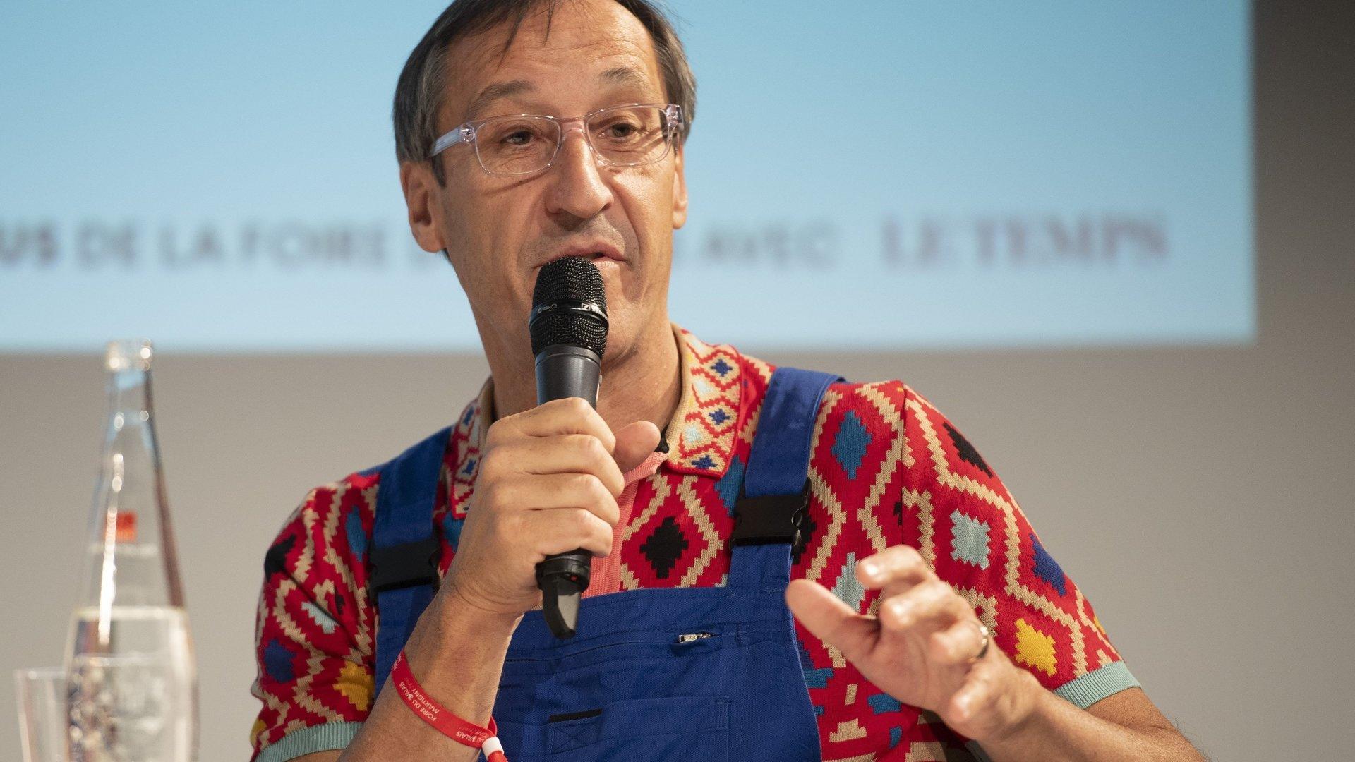 Bernard Fontannaz, le patron d'Origin Wine.
