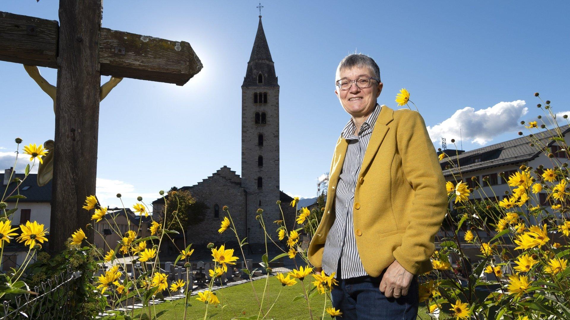 Elle a choisi de traiter plusieurs chapitres de l'ouvrage sur le demi-millénaire de l'église paroissiale.