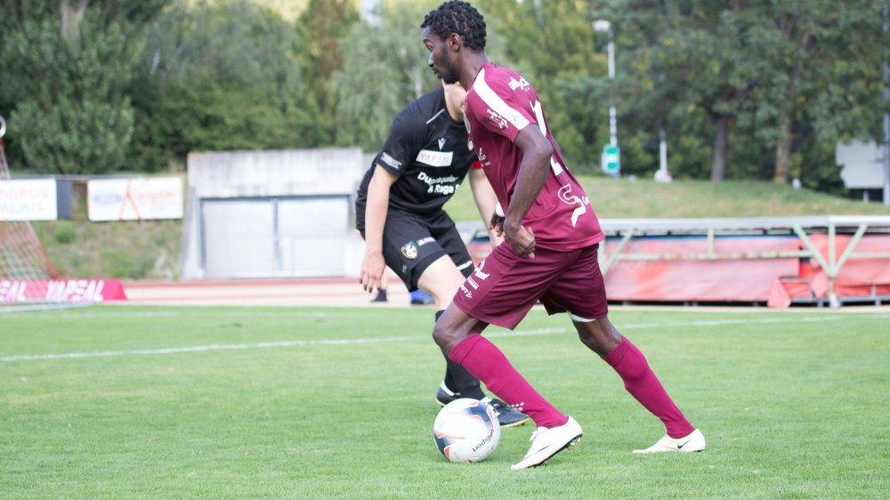 Sékou Coumare a largement contribué à la qualification de Martigny avec son triplé.