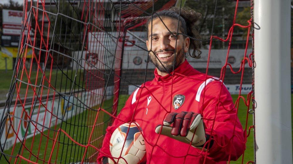Steve Saffioti, une forte personnalité et une bonne humeur contagieuse dans les rangs du FC Monthey.