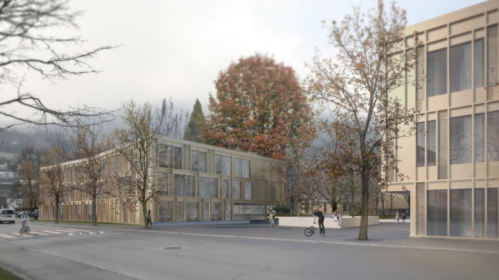 Le projet du Mabillon prévoit notamment la réalisation d'une vingtaine de salles de classe.