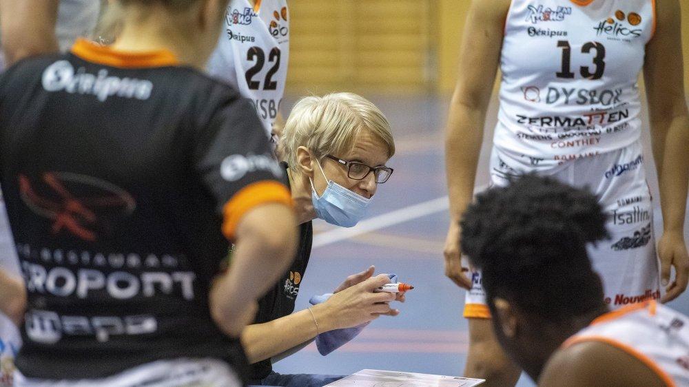 Finalistes de la Coupe de la ligue la saison dernière, Simona Soda et ses filles veulent faire encore mieux cette saison.