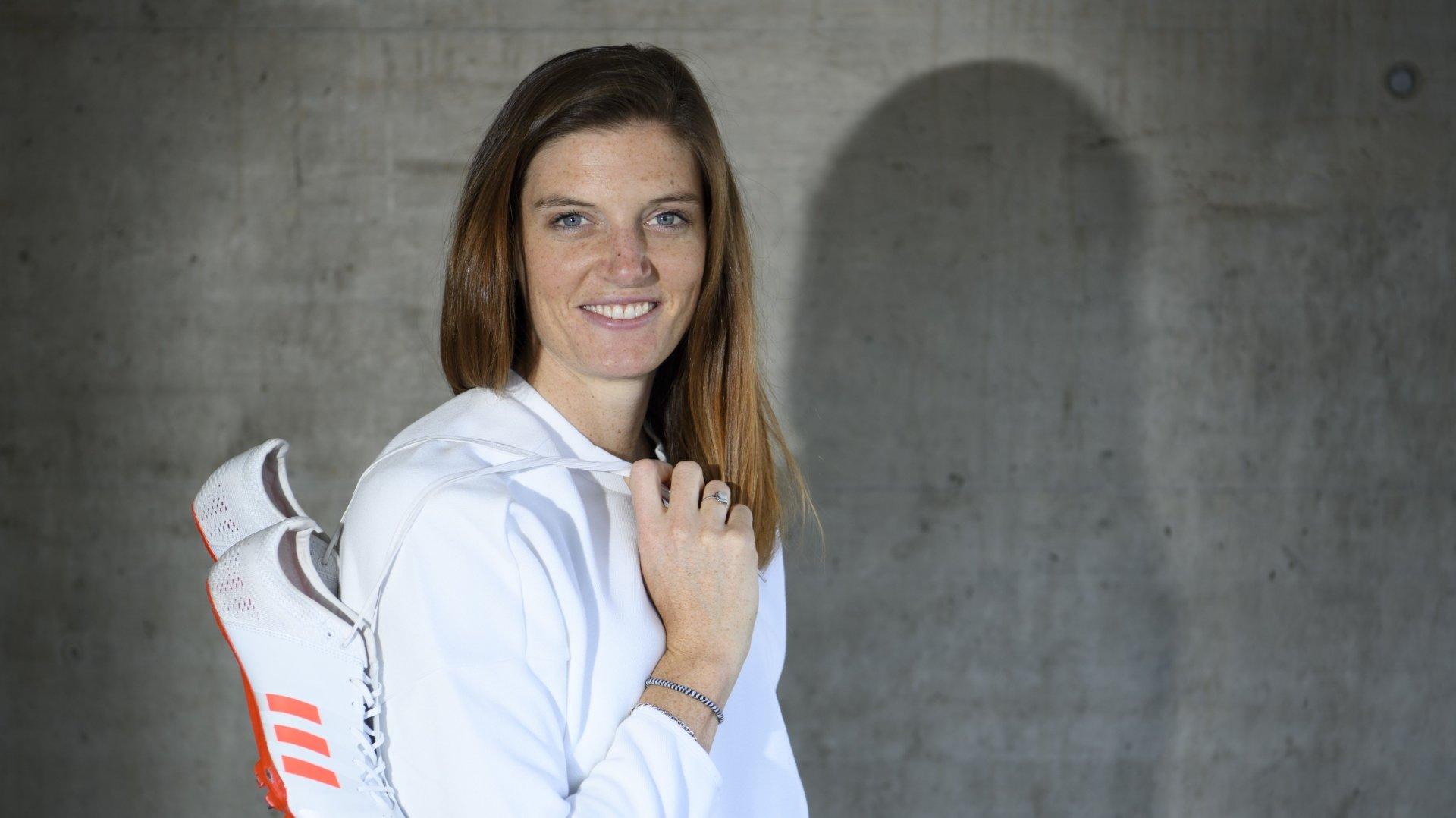 Lea Sprunger, ex-championne d'athlétisme.