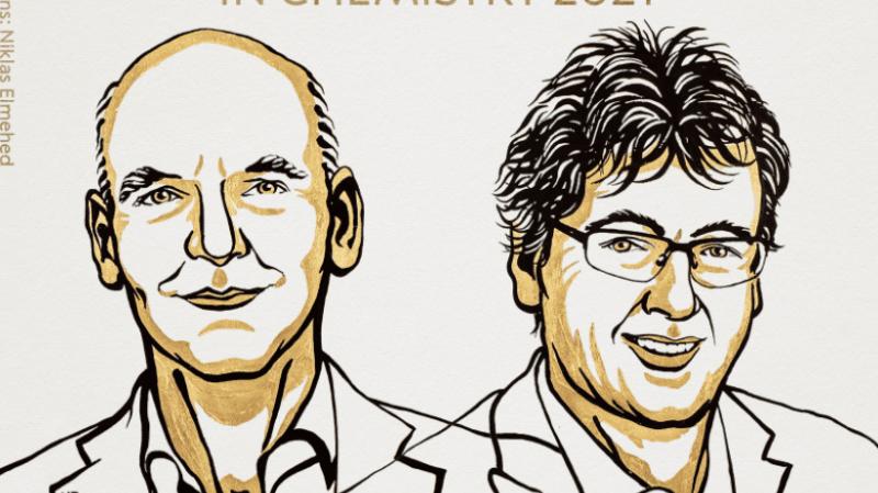 Le Nobel de chimie revient à l'Allemand Benjamin List et l'Américain David MacMillan