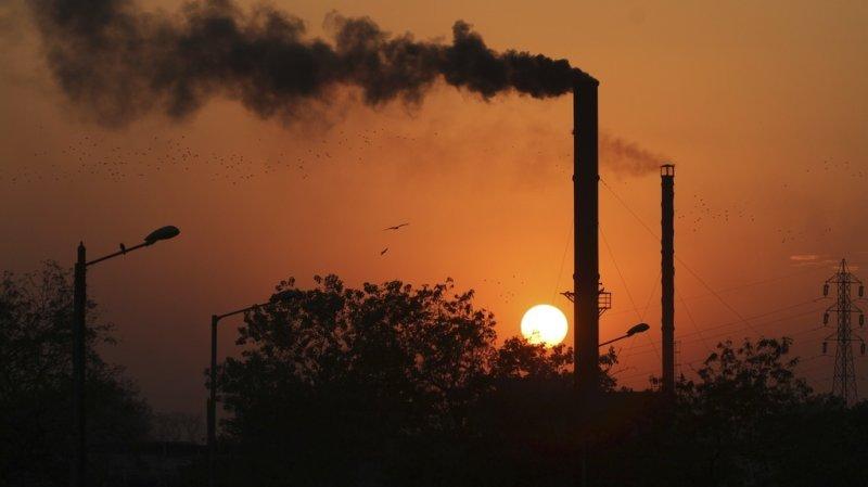 Nouveau record des concentrations de gaz à effet de serre