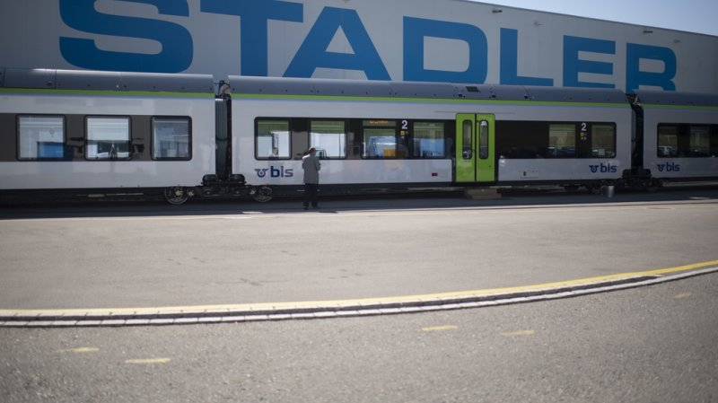 Stadler l'a emporté sur le français Alstom et l'allemand Siemens lors de la mise au concours.