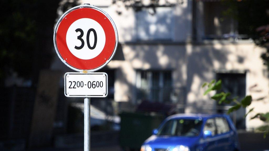 Circulation: les Suisses sont favorables à des zones 30 dans les localités