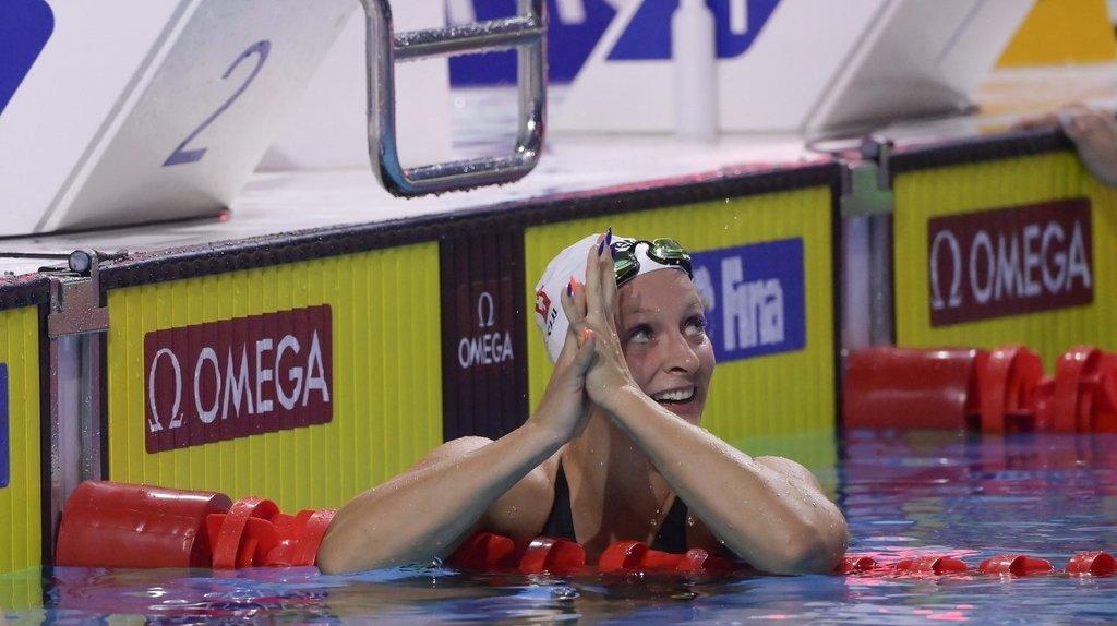 Jeudi dans la capitale hongroise, Ugolkova avait abaissé les records nationaux du 200 m papillon et du 100 m quatre nages.