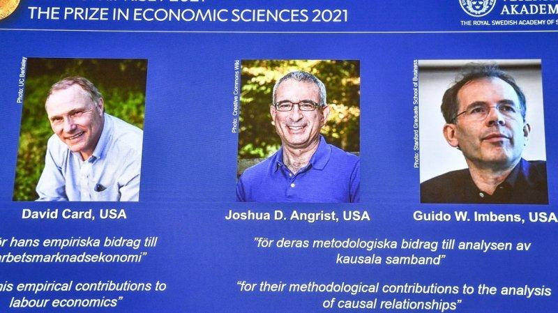 Les trois chercheurs ont apporté de nouvelles idées sur le marché du travail.