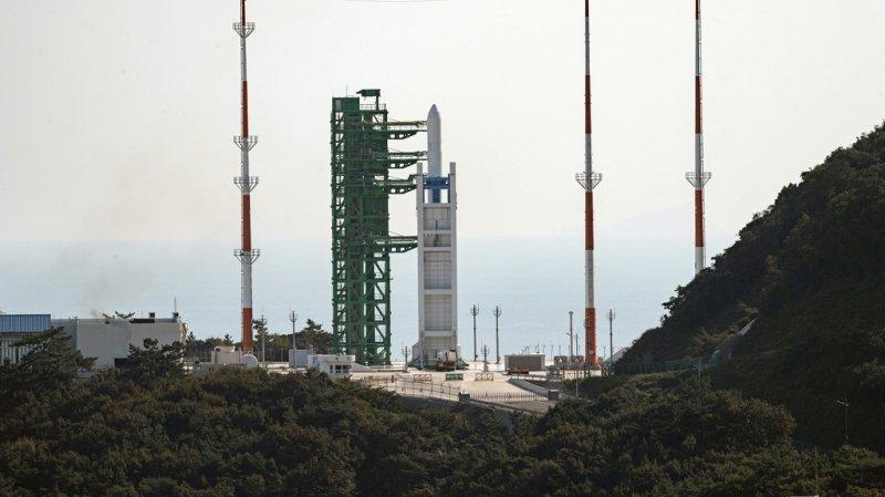 Corée du Sud: lancement d'une fusée spatiale «maison»