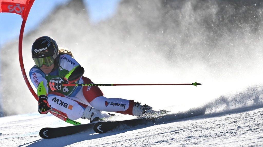 Ski alpin – Géant de Sölden: Lara Gut-Behrami en tête après la 1ère manche