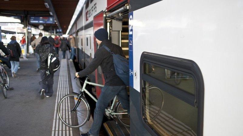 CFF: les vélos auront 400 places de plus dans les trains dès 2022
