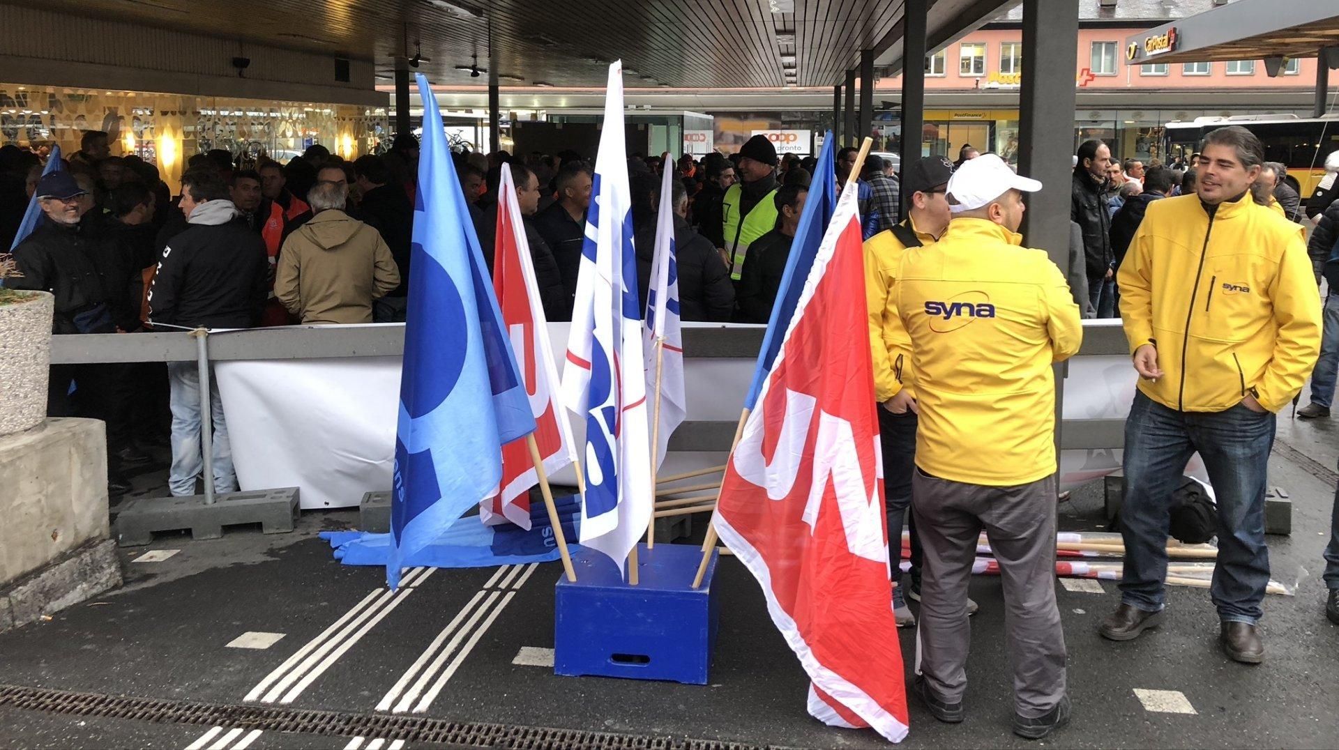 Les syndicats valaisans se mobilisent pour la manifestation nationale du 30octobre