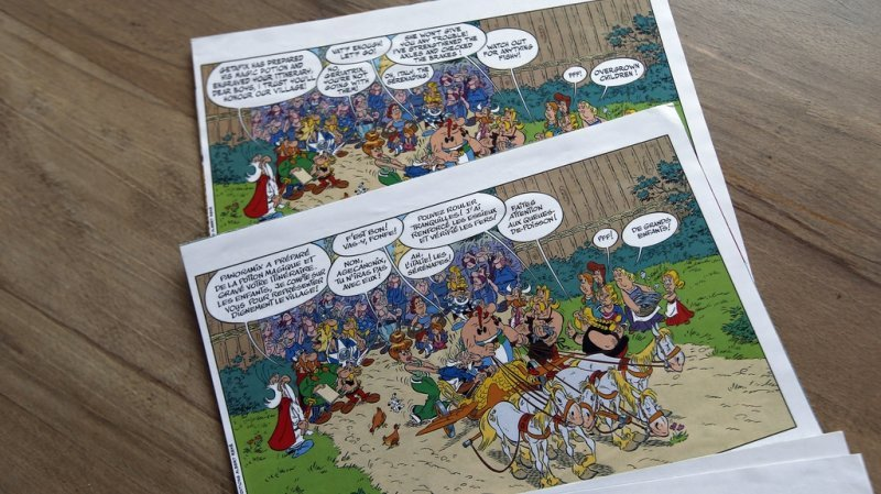 Bande dessinée : le scénario inachevé d'un « Astérix » a été retrouvé dans les archives familiales