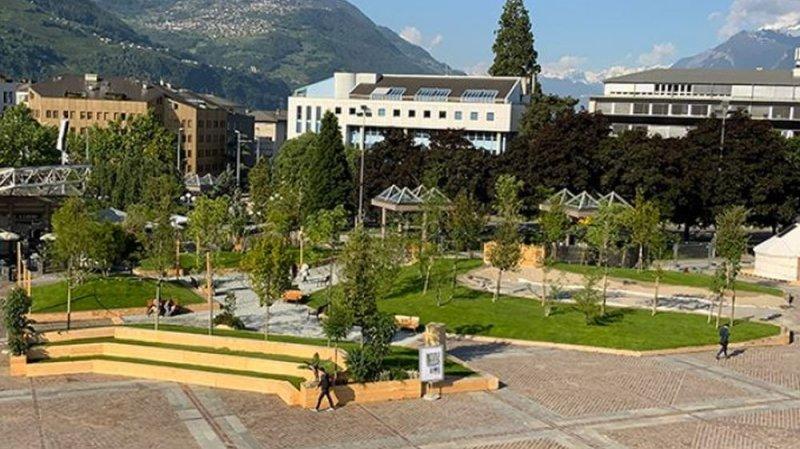 Le parc éphémère de la Planta restera en place plus longtemps qu'annoncé.