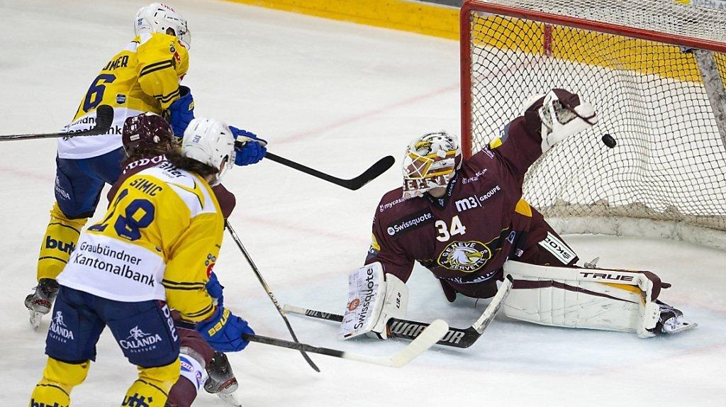 Hockey – National League: Genève-Servette s'incline 3-2 face à Davos