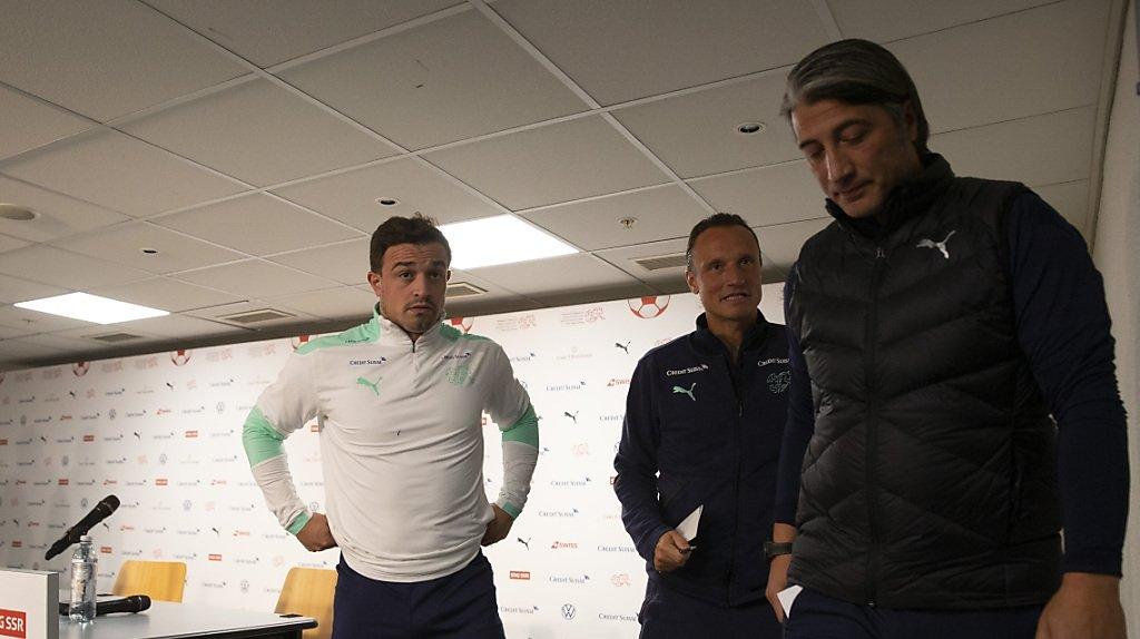 La scène s'est déroulée durant l'interview d'après-match.