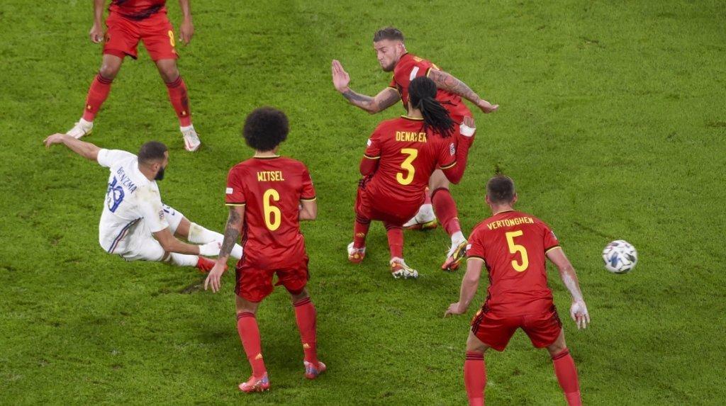 Football - Ligue des nations: la France renverse la Belgique et retrouve l'Espagne en finale