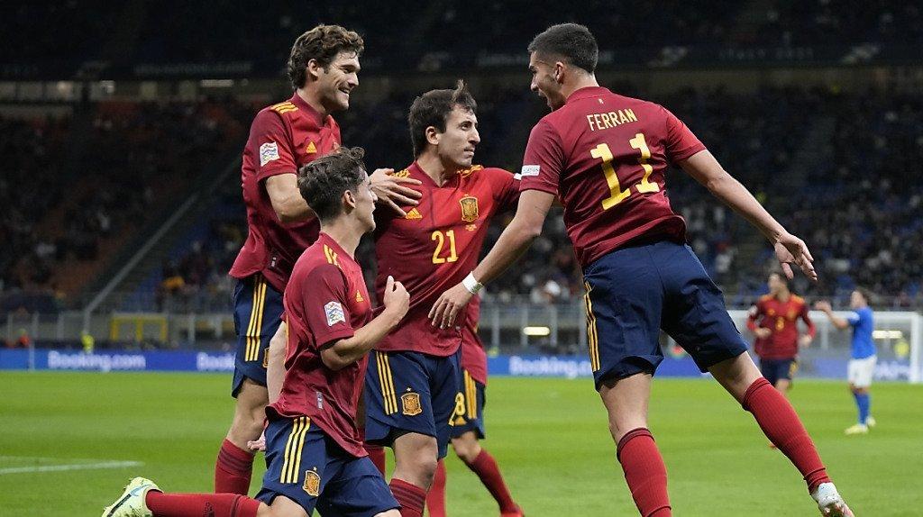 Football - Ligue des nations: l'Espagne en finale après avoir battu l'Italie