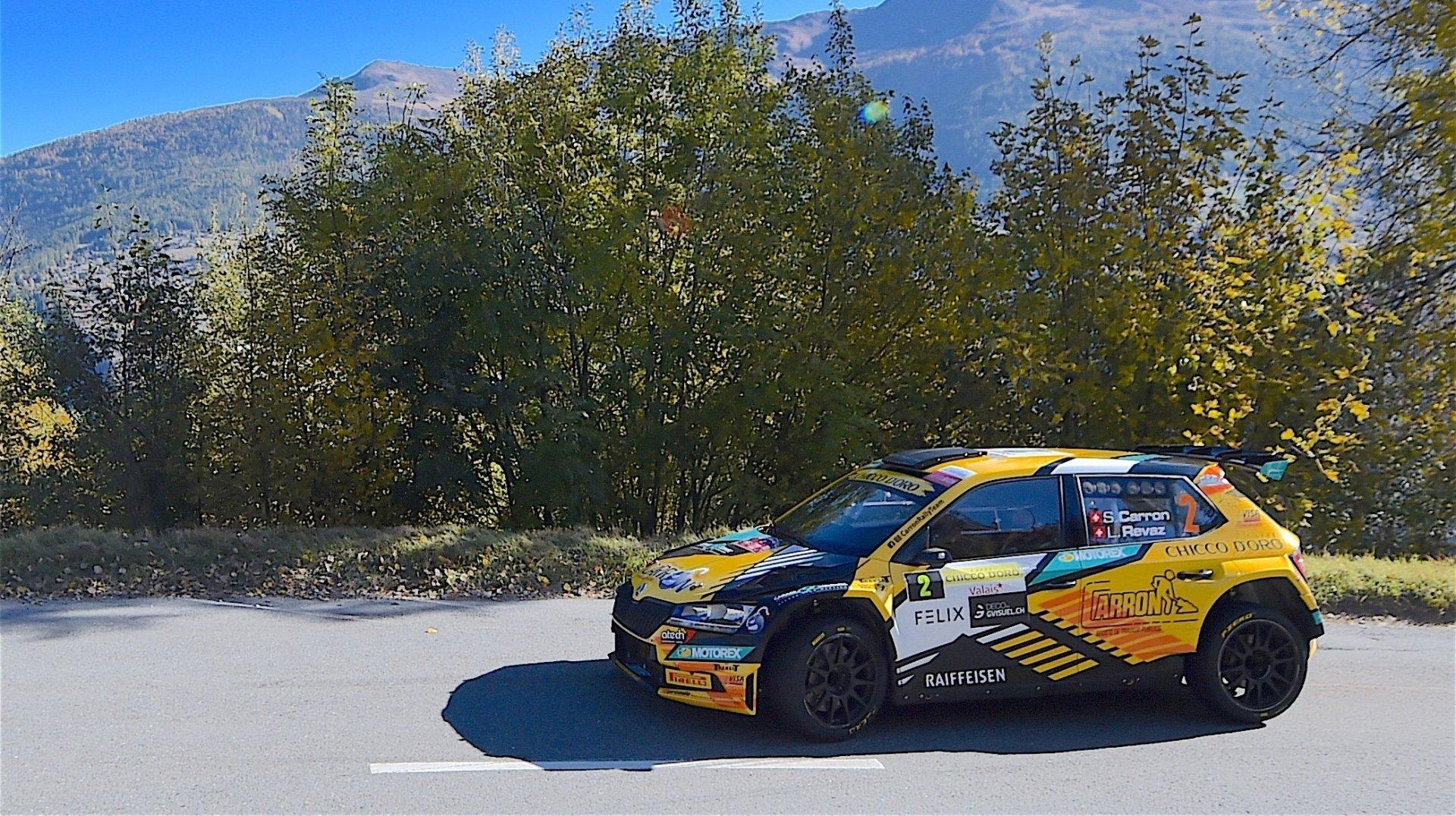 Rallye du Valais: Sébastien Carron poursuit son sans-faute