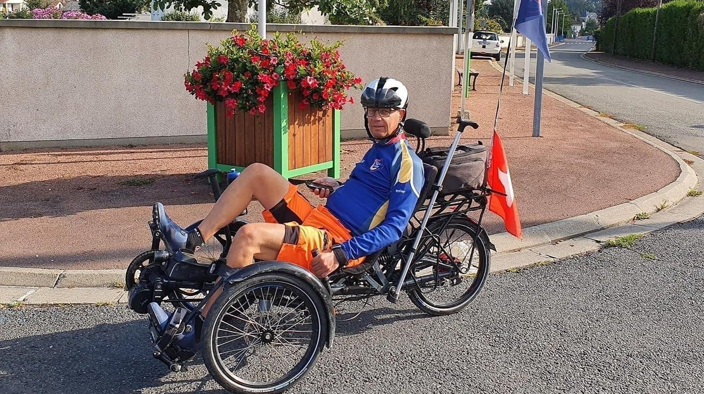 Cyclisme: Christian Salamin arrive gentiment en Espagne