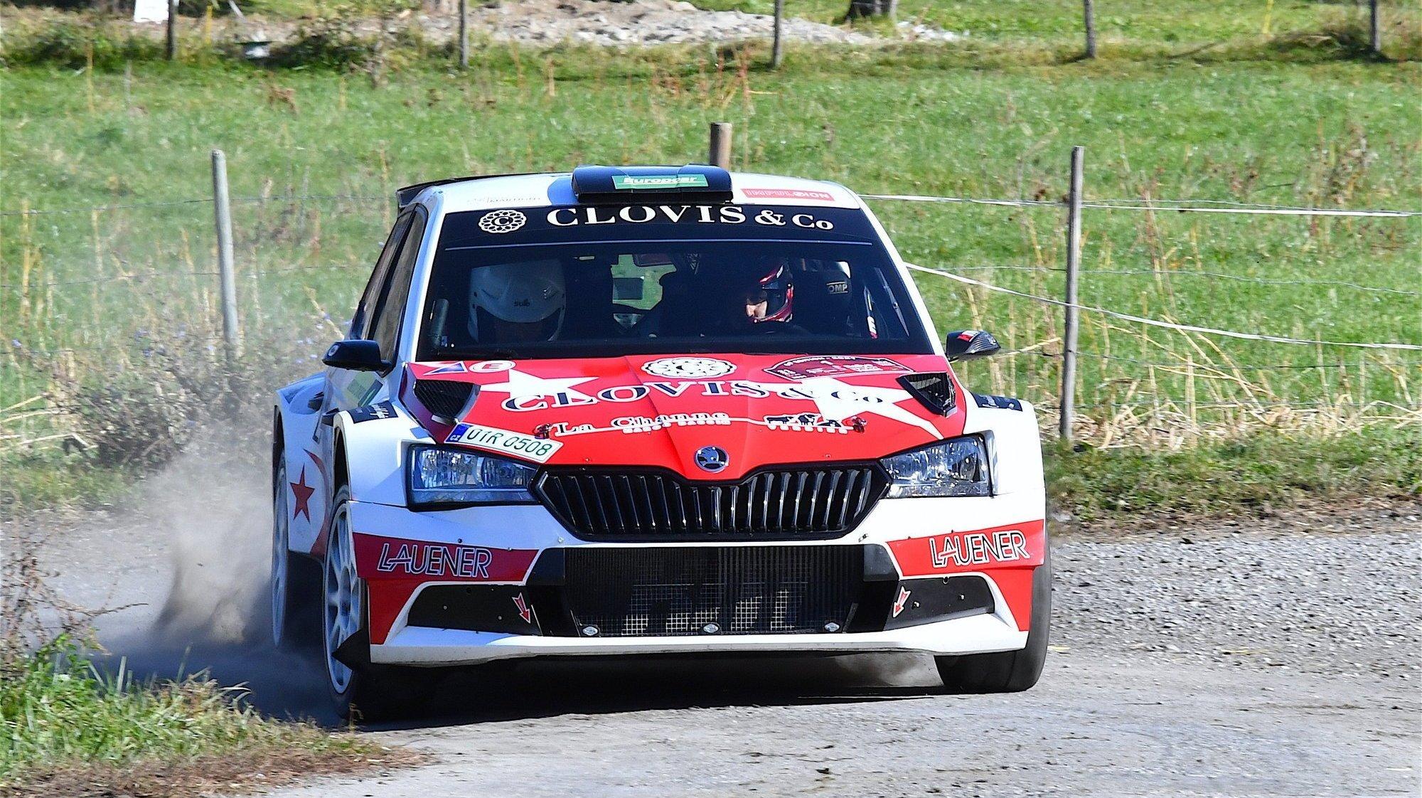 Le pilote de Verbier, Mike Coppens s'offre son premier titre au Rallye du Valais