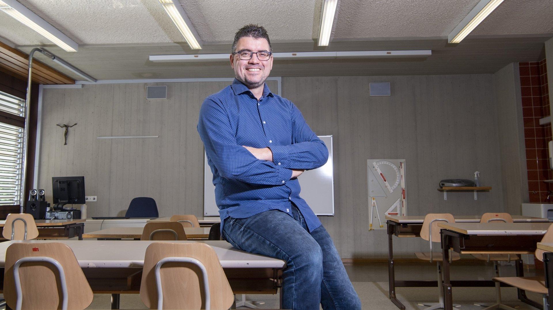 «Il faut défendre les acquis des enseignants»: le Valaisan David Rey prêt à défendre ses collègues romands