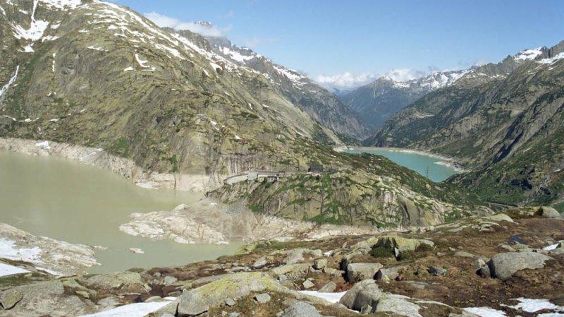 Le Valais soutient le projet de construction d'un tunnel multifonctionnel au Grimsel.