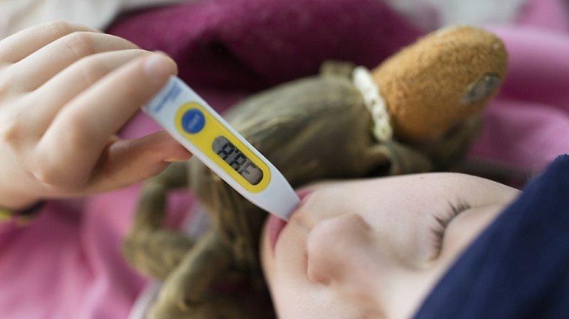 Les virus saisonniers envoient un nombre record de petits Valaisans à l'hôpital