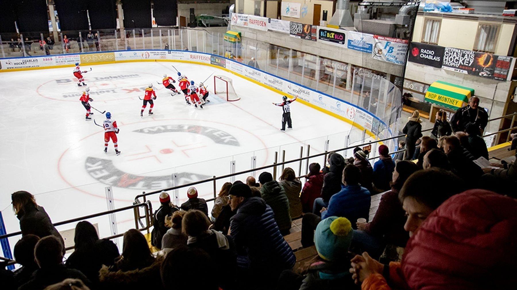 Hockey: Monthey attend cinq nations parmi le top 8 mondial