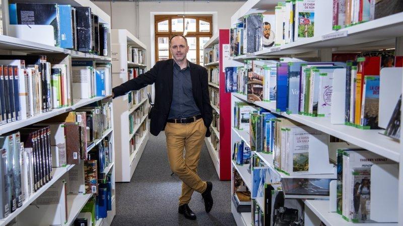 Parti à Berne, Damian Elsig  a passé vingt ans dans le giron de la Médiathèque Valais.