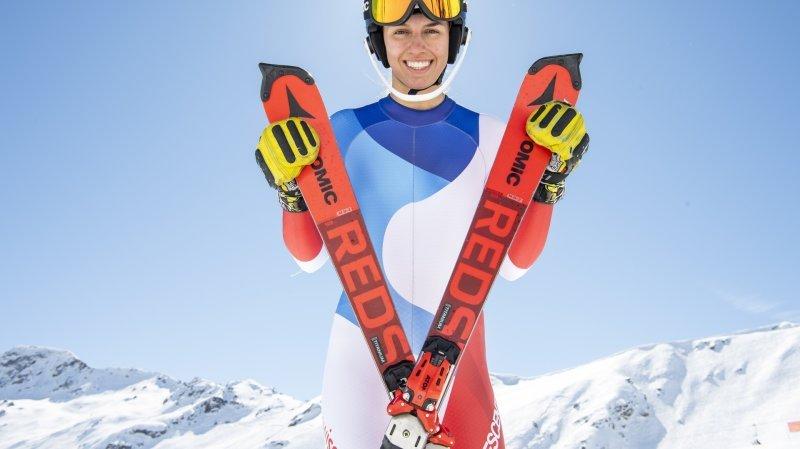 8 étoiles valaisannes: Malorie Blanc, la skieuse qui veut vivre l'instant présent