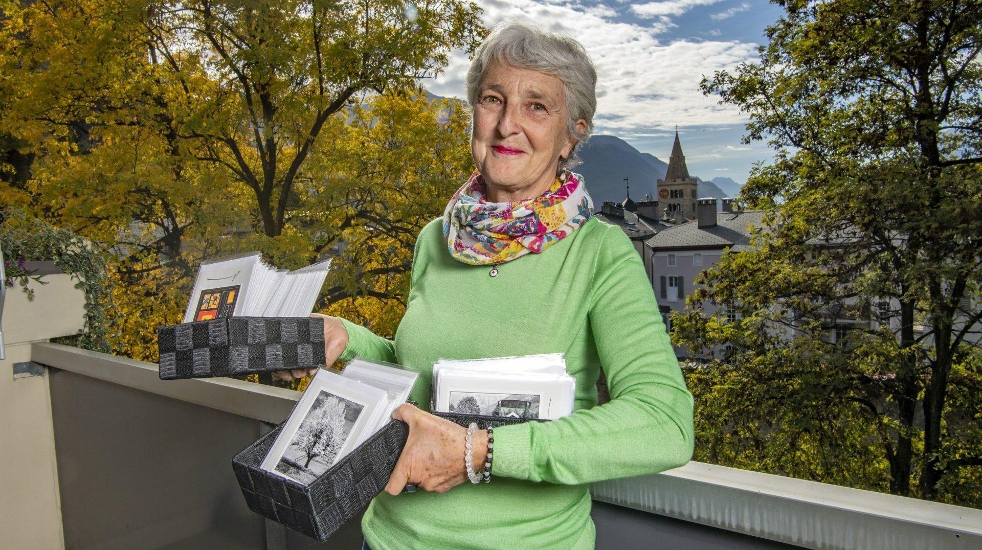 Sion: avec ses cartes, Manuela Thurre propose d'écrire des mots joyeux ou tendres