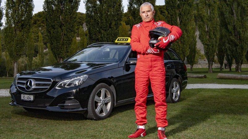 Rallye: taxi durant l'année, Michel Walter s'est offert un autre volant pour le Rallye du Valais