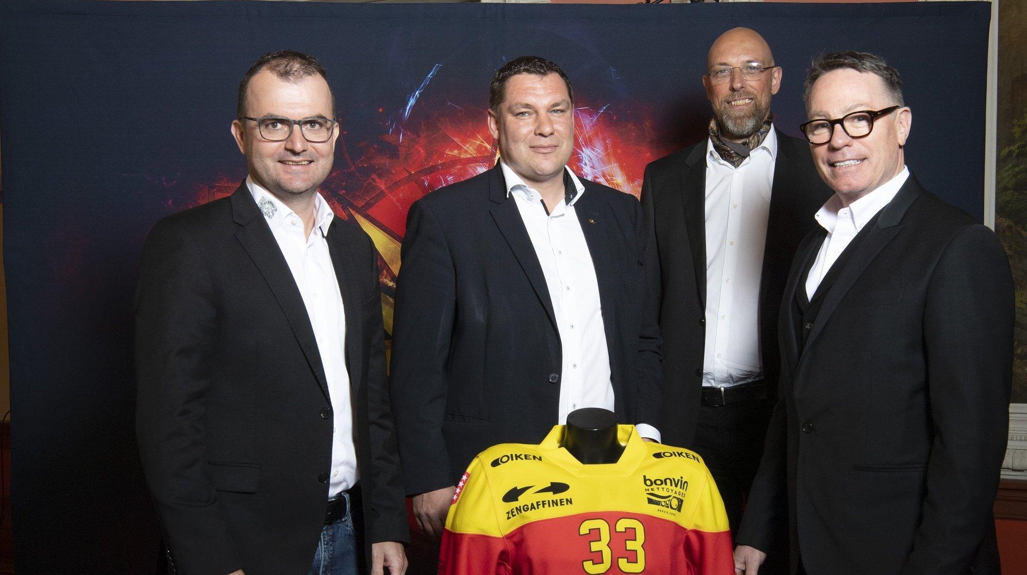 La future patinoire de Sierre est portée par trois partenaires convaincus
