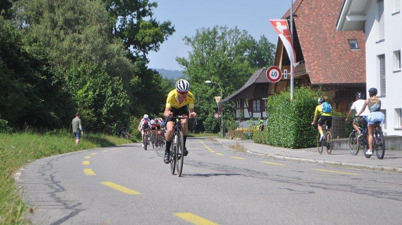 Cyclisme: Roméo Silian a terminé sur le podium de la Coupe de Suisse sur route et en VTT