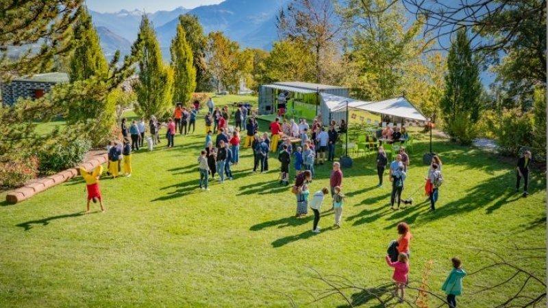 Noble-Contrée dispose de nombreux espaces publics comme le parc Obabao de Venthône où s'est déroulée la cérémonie samedi.